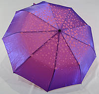 "Зонт женский полуавтомат хамелеон с узором от фирмы ""MARIO"""