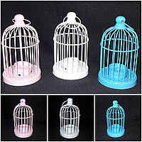 Металлический подсвечник, разные цвета, 16 см, 150/120 (цена за 1 шт. + 30 гр.), фото 1