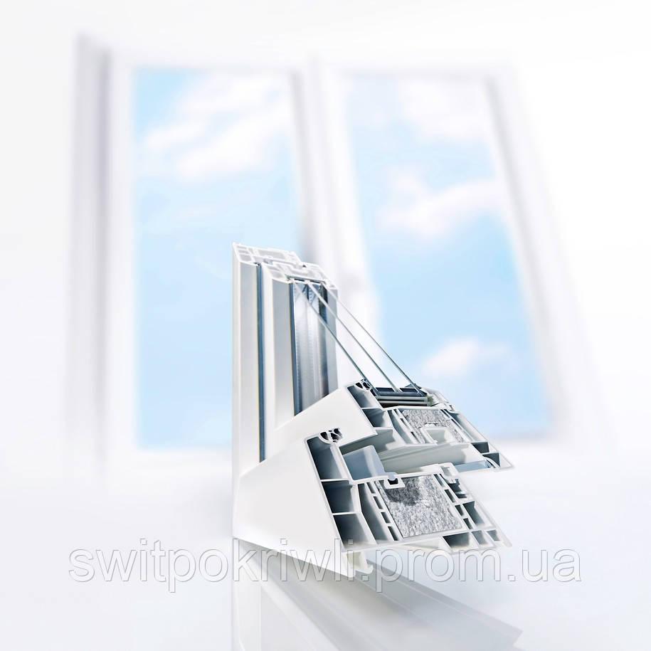 Металлопластиковіе окна REHAU GENEO PHZ