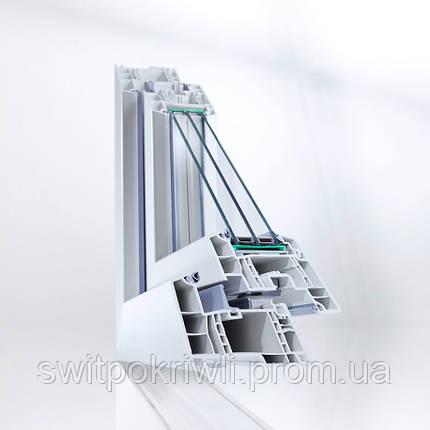 Металлопластиковые окна REHAU GENEO, фото 2