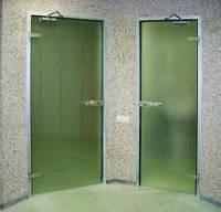 Комплект профиля для цельностеклянной двери