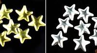 Заклепки для ногтей, звезды, микс, 25 шт