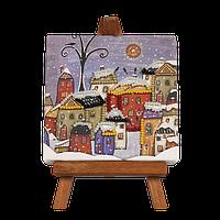Вышивка Бисером Набор для вышивания бисером с мольбертом FLMD-057 Волшебная Страна Украина