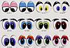 Здесь, Вы можете заказать  изготовление глаз по индивидуальному эскизу.