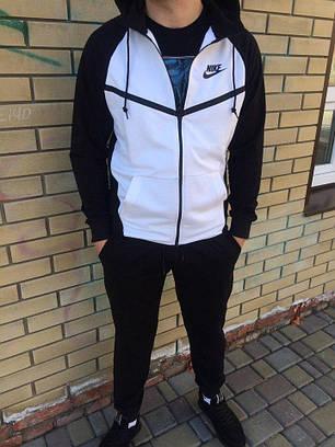 7f774d63162a Мужской спортивный костюм Nike черно-белый топ реплика  продажа ...