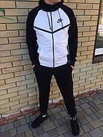 Мужской спортивный костюм Nike черно-белый
