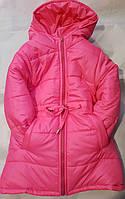 Детское зимнее пальто на овчине оптом 92-116, фото 1