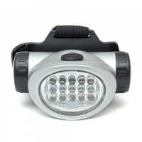 Пластиковый фонарь на лоб Bailong 603 / 15 диодов, фото 1