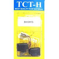 ✅ Щетки угольно-графитовые для De Walt 6*10 мм (клемма «мама», с автоматическим отстрелом, комплект - 2 шт)