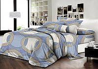 Набор постельного белья из ранфорса 100% хлопок Комфорт Текстиль семейный