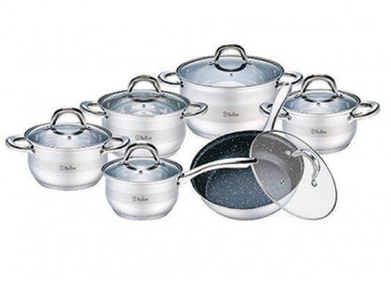 Набор посуды 12 предметов Bollire BR-4004