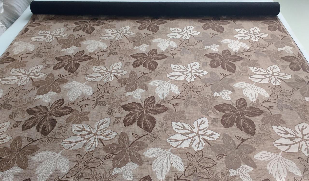 Обивочная мебельная жаккардовая недорогая ткань Симона 2А