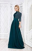 Женское нарядное длинное платье, в расцветках