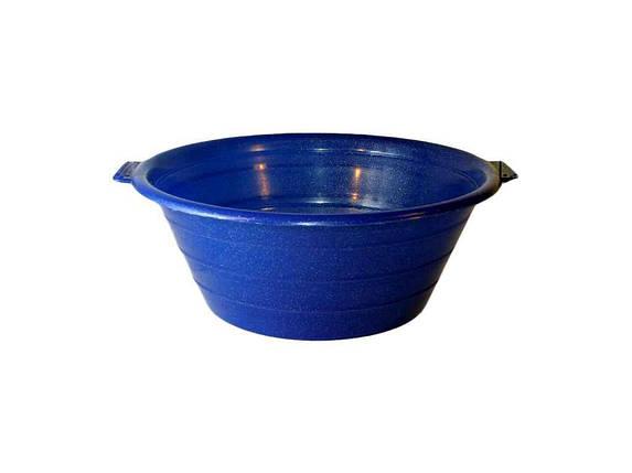 Миска пл. 8л синя ТМ КОНСЕНСУС, фото 2