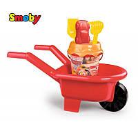 Детская тачка для игры в песочнице Маквин Cars Smoby 864005