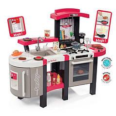 Детская кухня интерактивная Tefal Super Chef Deluxe Bubble Smoby 311304