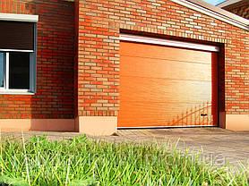 Гаражные секционные ворота Алютех Classic, фото 3