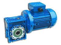 Мотор-редуктор червячный одноступенчатый типоразмер 075