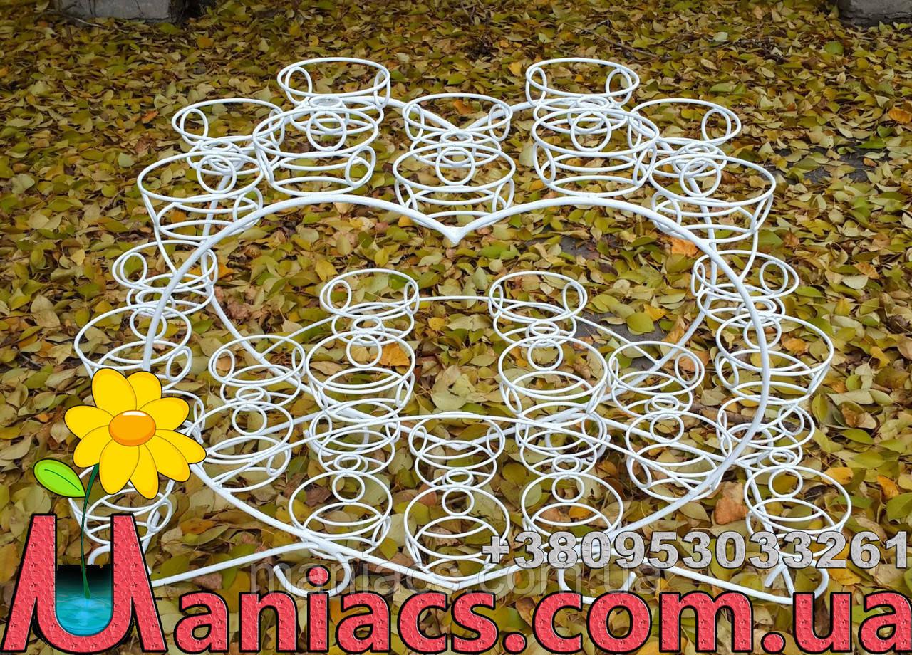 Фиалка-9, подставка для цветов на 32 чаши