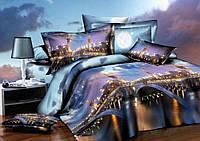 Семейное постельное белье ранфорс 100% хлопок Комфорт Текстиль