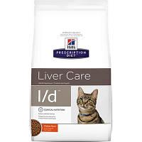 Hills Prescription Diet Liver Care L/d Chicken Лечебный корм для печени у кошек