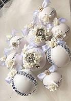 Новогодние шары ручной работы, набор