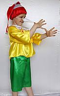 Костюм карнавальный для мальчика Буратино.  Костюм Новогодний Буратино