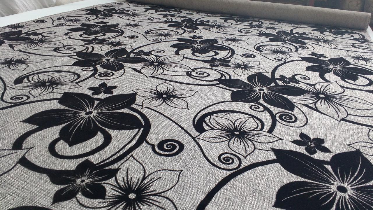 Обивочную ткань для мебели в украине Шервуд серый