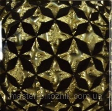 Вставка напольная Grand Kerama Tako 6,6x6,6 сфера золото
