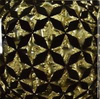 Вставка напольная Grand Kerama Tako 6,6x6,6 сфера золото Золотой, 6.6х6.6