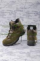 Ботинки милтек олива