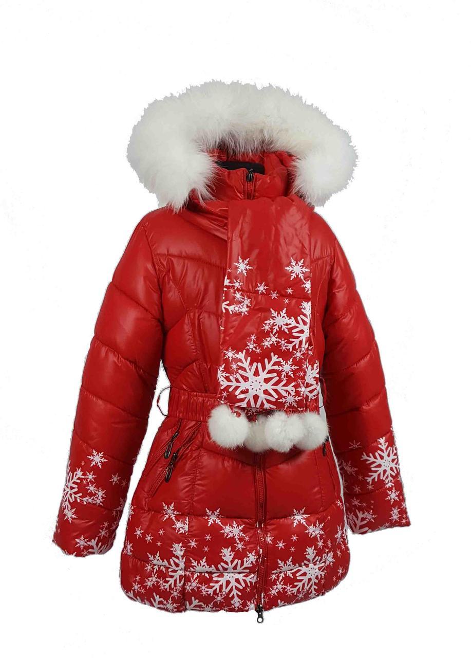 Зимнее Z 810 пальто на 100% холлофайбере размеры 122 и 152, фото 1