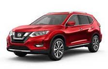 Рейлинги Nissan X-Trail (2017 - ...)