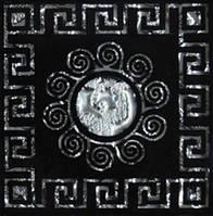 Вставка напольная Grand Kerama Tako 6,6x6,6 Византия платина