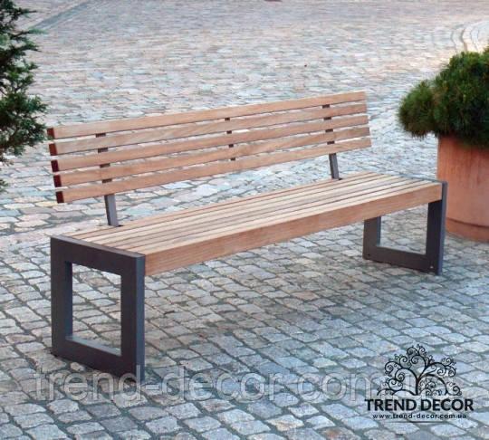 Скамейка парковая TrendDecorLP002