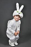 Детский карнавальный костюм ЗАЙЧИК, ЗАЯЦ, ЗАЙКА на 2,3,4,5,6,7 лет новогодний маскарадный костюм ЗАЙЧИКА