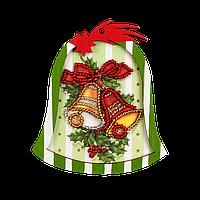 Вышивка Бисером Елочная игрушка для вышивания бисером (фанера) FLE-007 Волшебная страна Украина