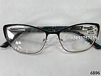 Очки для женщин в комбинированной оправе. Модель 6806, фото 1