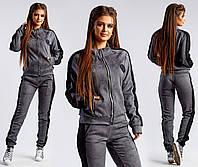 Женский спортивный костюм / замш на дайвинге / Украина, фото 1