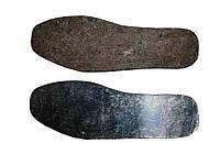 Стельки войлочные коричневые с фольгой 48р. 10 пар