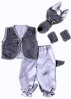 Карнавальный костюм для мальчика Волк. Новогодний костюм Волка
