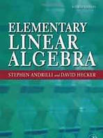Stephen Andrilli, David Hecker Elementary Linear Algebra, Fourth Edition