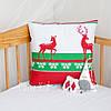 """Декоративная подушка """"Red Deer"""", оригинальный подарок"""