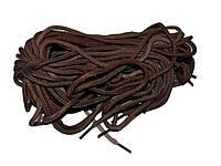 Шнурки для взуття коричневі 1,5м (10пар) ТМ УКРАЇНА