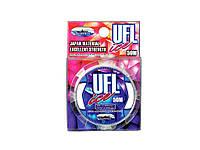 Ліска зимова UFL ICE Transparent Color 0.091mm 50m ТМ FISHING ROI