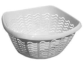 Сухарниця пластикова (11х25х25 см) біла ТМ КОНСЕНСУС