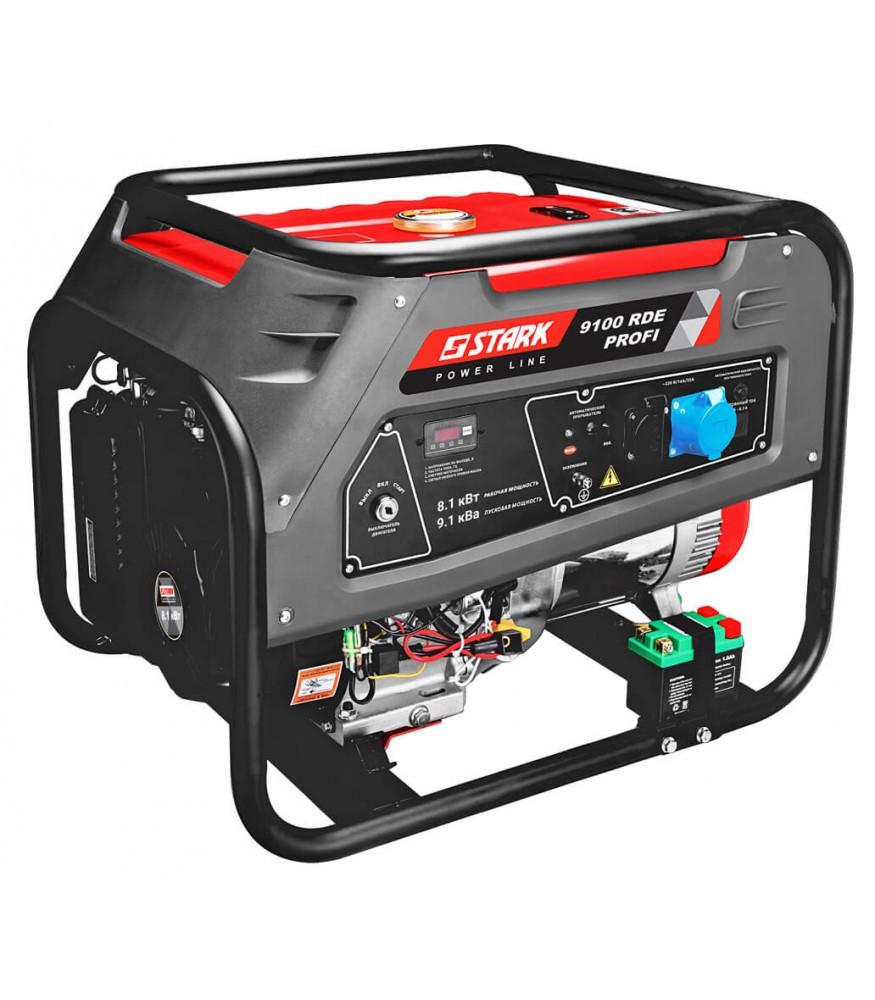 Бензиновый генератор Stark 9100 RDE Profi (240910020)
