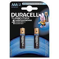 Батарейка Duracell TURBO AAA LR03 * 2 (5000394069213 / 81484985)