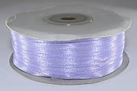 Лента атласная. Цвет - сиреневый. Ширина - 0,3 см, длина - 123 м