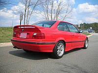 СПОЙЛЕР НА КРЫШКУ БАГАЖНИКА BMW E36 (НИЗКИЙ)